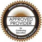 CE class credits Massage Therapy
