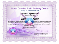 Reiki 2 II Certification Classs lessons