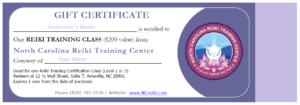 NCreiki Training Class Gift Certificate