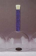 Blue Crystal Singing Bowl Throat Chakra G Note